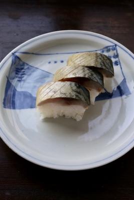 鯖寿司(動画、レシピ付き)食材はついておりません。