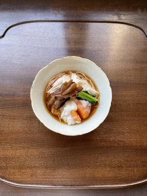 山芋素麺と卵の旨だれがけ(レシピ/動画/食材付)