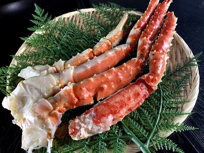 ボイルたらば蟹シュリンク 4Lサイズ (総重量800g)