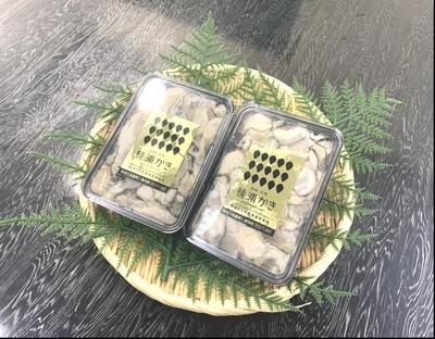 〈水産物応援商品〉 桃浦 宮城県産 生食用ムキ牡蠣 特選プレミアム 180g×2パック