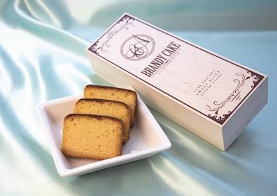 ブランデーケーキ(1本入)木箱