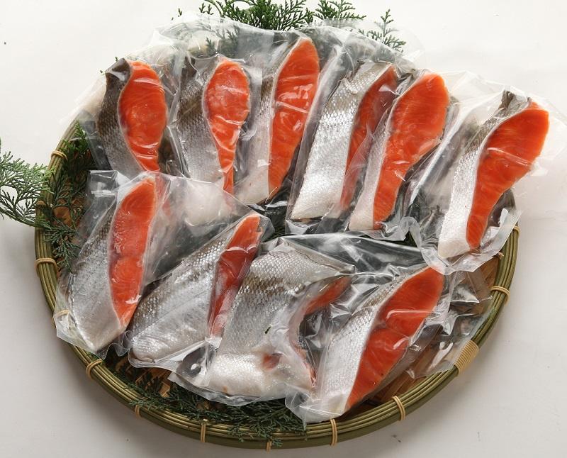 最高級 カナダ産 天然紅鮭・甘口「特大サイズ」片身約1.2k