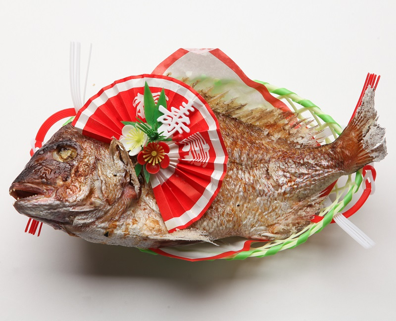 お正月用 祝鯛(焼鯛)12月29日限定出荷!