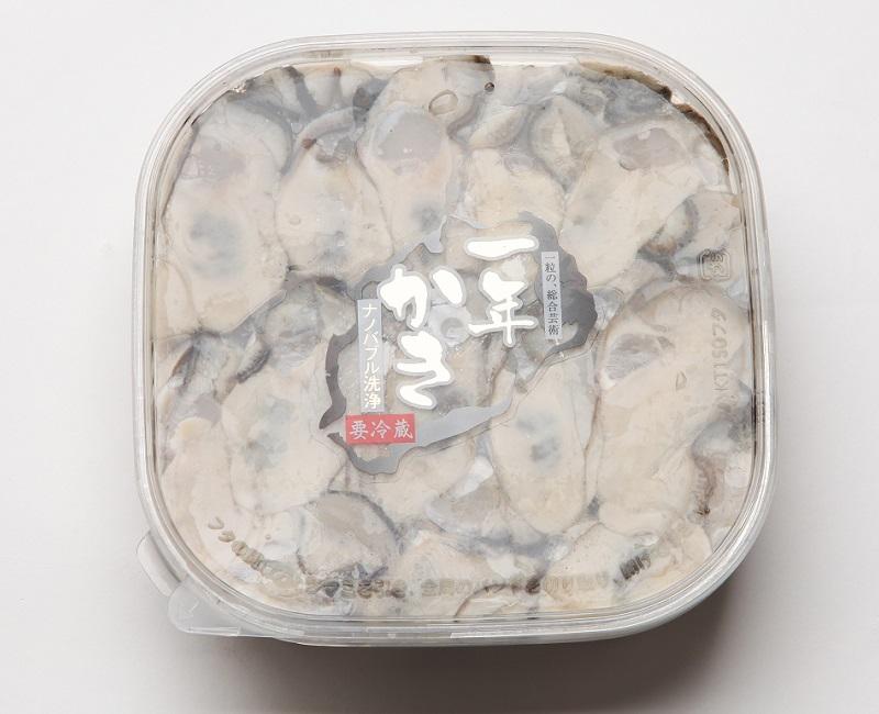 兵庫県産 相生の一年珠牡蠣(かき・生食用)むき落とし300g