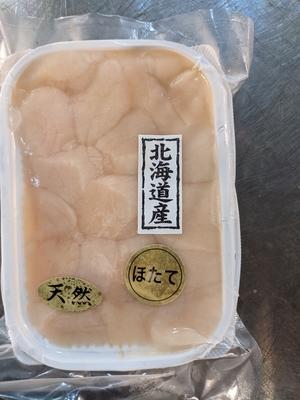 北海道 網走産 小粒帆立120g  生食用
