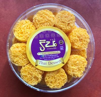 フォイトーン(卵のお菓子)/Foy-thong Thai dessert 80g