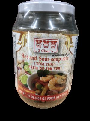 トムヤムペーストLサイズ / Tom yam soup paste 454g