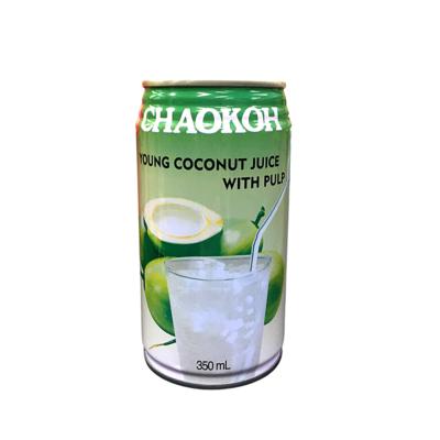 ココナッツジュース 果肉入り 缶/Coconut Juice with Pulp Can 350ml