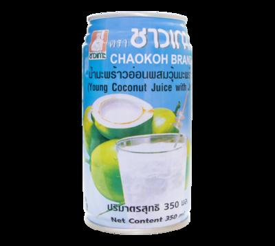 ココナッツジュース(ゼリー入)/Coconuts Juice with Jelly 350ml