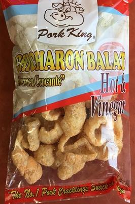 豚皮揚げスナック菓子 辛口/Pork rinds snack Hot Vinegar