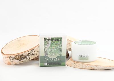 清水商店 白樺樹液のオールインワンジェルとせっけんセット 【0020584】