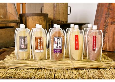 高善商店 岩手の麹屋さん 甘酒5種類飲み比べセット 【0021405】