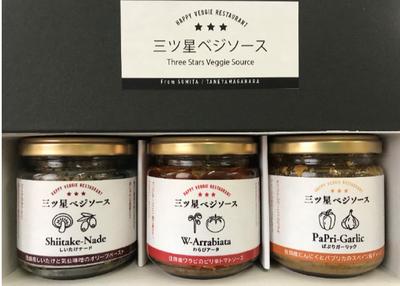 住田観光開発 三ツ星ベジソースセット 【0021387】