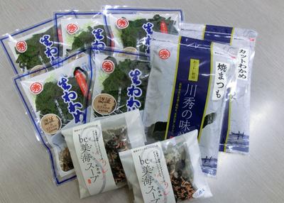 川秀 海藻品セット【0021654】