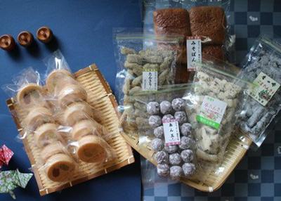 村上製菓 岩手の駄菓子とフルーツもなかセット【0021694】