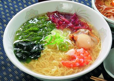 小笠原製麺所 三陸宮古ラーメンと磯ラーメンセット【0021667】