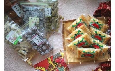 村上製菓 岩手の駄菓子と和風アップルパイセット【0021695】