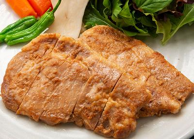麻生 三陸釜石工場 遠野ホップ豚使用 豚味噌漬け 5枚入り【0020179】
