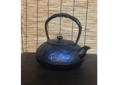 及富 鉄瓶IH 瓢 るり色【0020221】※受注生産