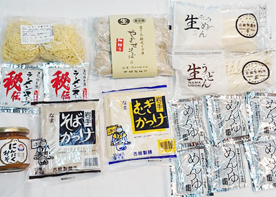 古舘製麺所 こだわり生めん6種セット【0020199】