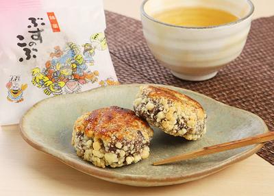 お菓子の沢菊 岩手久慈銘菓 「ぶすのこぶ」 2種類各10個入り 【0020259】