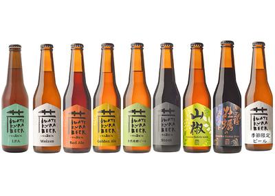 世嬉の一酒造 いわて蔵ビール アラカルト8本セット 【0020296】