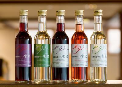 自園自醸ワイン紫波 お試しミニ5本セット【0020492】