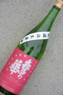 喜多の華8★無濾過生原酒