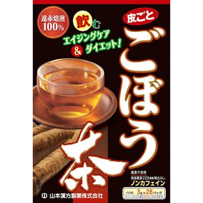 山本漢方製薬 ごぼう茶100% 1箱(3g×28包)