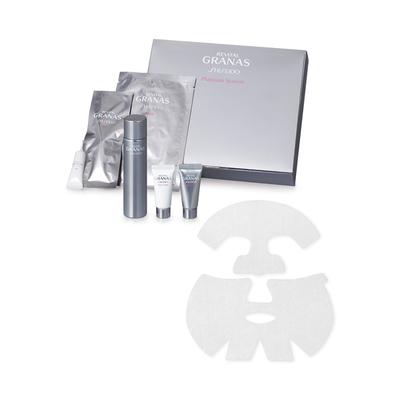リバイタル グラナス プラチナムシステム 除去マスク3g×4、シートマスク22mL×4、保湿液50mL、日中用クリーム8g、夜用クリーム8g