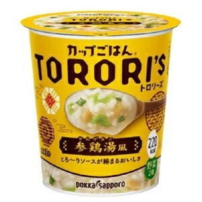 ポッカサッポロ カップごはんトロリーズ参鶏湯(サムゲタン)風カップ 58.0g