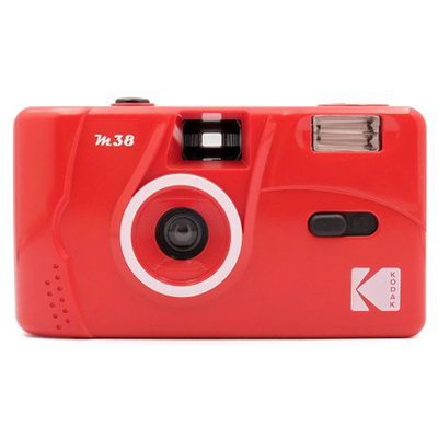 KODAK(コダック)M38フィルムカメラ FLAME SCARLET(フレイムスカーレット)