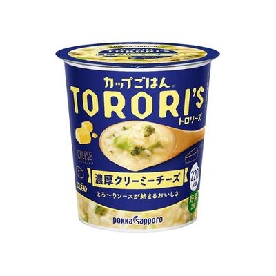 ポッカサッポロ カップごはんトロリーズ濃厚クリーミーチーズカップ 56.1g
