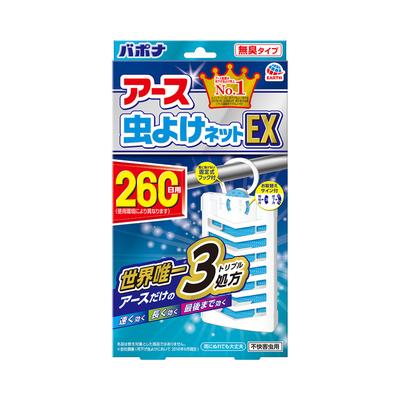 アース虫よけネットEX 260日用 バポナ 1個  【セール対象】