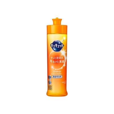 花王 キュキュット オレンジの香り 本体 240ml