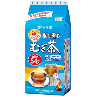 伊藤園 香り薫るむぎ茶 ティーバッグ 54バッグ入 1袋
