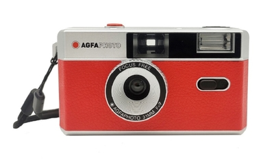 AGFA Photo Analogue Photo Camera(アグファフォト アナログフォトカメラ)35mmフィルムカメラ レッド