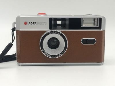 AGFA Photo Analogue Photo Camera(アグファフォト アナログフォトカメラ)35mmフィルムカメラ ブラウン