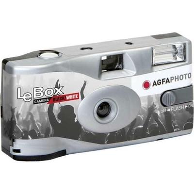 AGFA LEBOX BLACK&WHITE 36EX レンズ付モノクロフィルムカメラ 36枚撮り 使い捨てカメラ