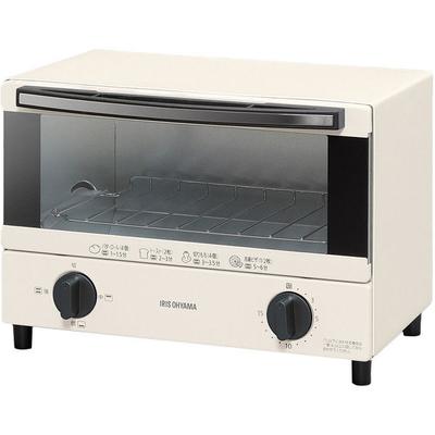 アイリスオーヤマ オーブントースター EOT-012-W 2枚焼き 1000W 火力調整3段階