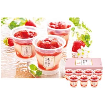 〔送料無料〕〔直送〕【父の日ギフト】博多あまおう たっぷり苺のアイス