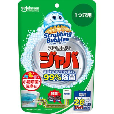 スクラビングバブル ジャバ1つ穴用 160g  【セール対象】