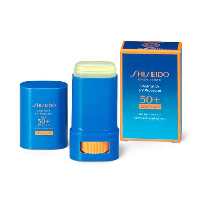 SHISEIDO サンケア クリアスティック UVプロテクター 15g