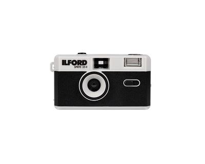 ILFORDフィルムカメラ イルフォード スプライト35-II(ブラック&シルバー)
