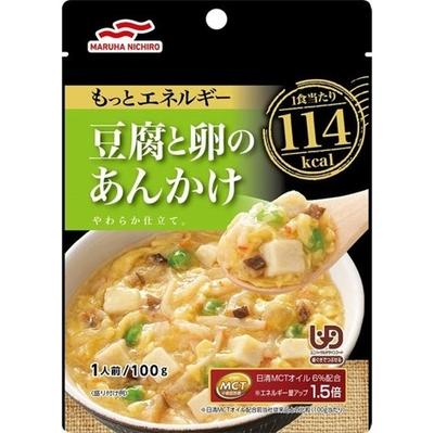 マルハニチロ もっとエネルギー豆腐と卵のあんかけ 100g