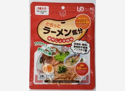 田靡製麺 とろっとラーメン気分 海鮮しょうゆ 29g×2袋