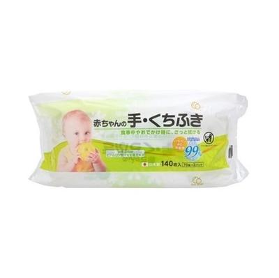 大一紙工 赤ちゃんの手・くちふき 70枚×2P
