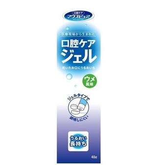川本産業 マウスピュア口腔ケアジェルウメ風味 40g  【ポイント10%還元】