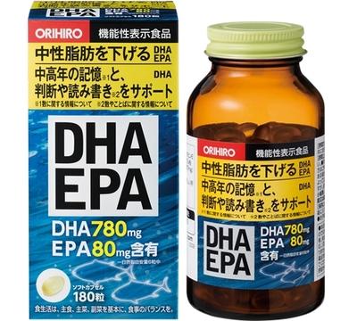 オリヒロ DHA EPA 180粒  【セール対象】