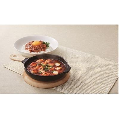 〔送料無料〕〔直送〕【2021夏ギフト】丸大食品 大豆のお肉を使った麻婆豆腐の素・キーマカレー (568)